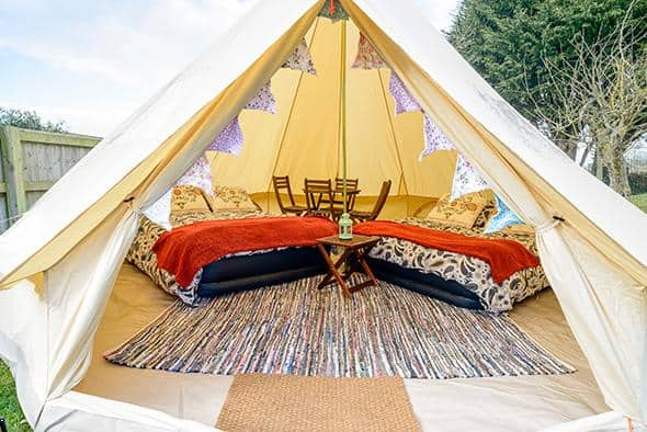 4 Person Glamping Tent - Isle of Man TT