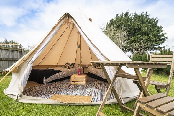 2 Person Glamping Tent - Isle of Man TT