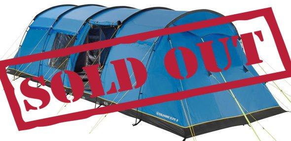 8 Person Standard Tent - Silverstone Classic