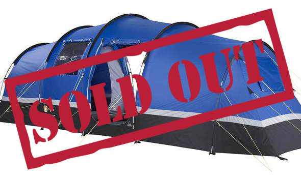 4 Person Standard Tent - Silverstone Classic