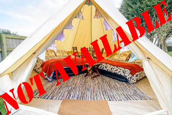 4/5 Person Glamping Tent - Belgian F1 Grand Prix