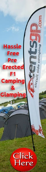 pre-erected f1 camping & glamping with intentsGP