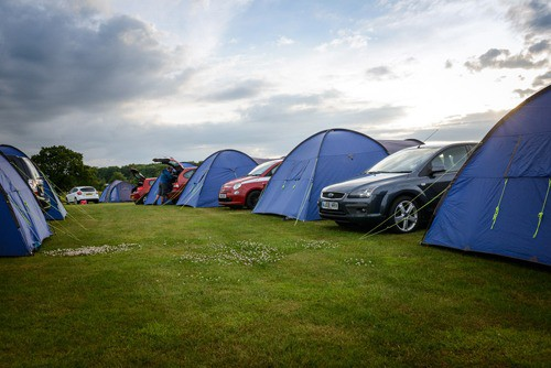 intentsGP Silverstone F1 camping at Whittlebury