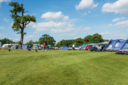 intentsGP British F1 Grand Prix camping at Whittlebury